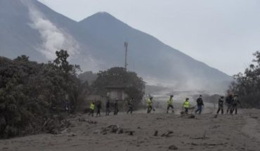 Eruption of the volcano of fire forces evacuation of 4,000 people in Guatemala