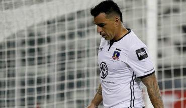 Esteban Paredes no jugará en el duelo entre Colo Colo y Huachipato