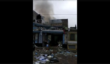 Explosion by pyrotechnics at a home in Apizaco, Tlaxcala leaves a deceased (Video)