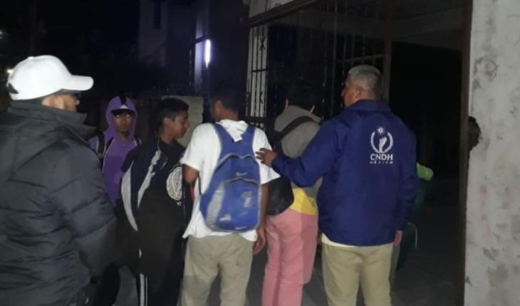 Free migrants held in Sonora