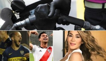 Further increase in naphtha, end of the Libertadores with visitors, touching choreography by Jimena Barón and much more...