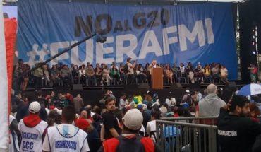 G20: Comenzaron las protestas con manifestantes locales y extranjeros