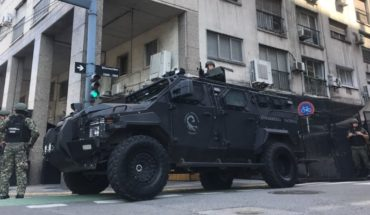 G20: El centro porteño copado las por fuerzas de seguridad