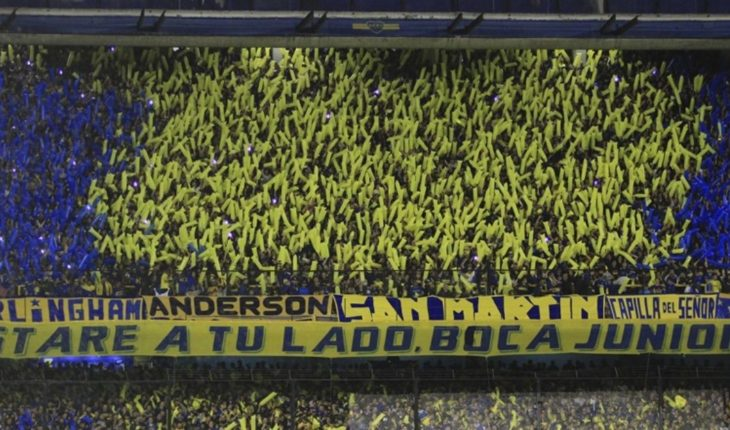 He flew the first batch of tickets and there was anger at the Boca fans