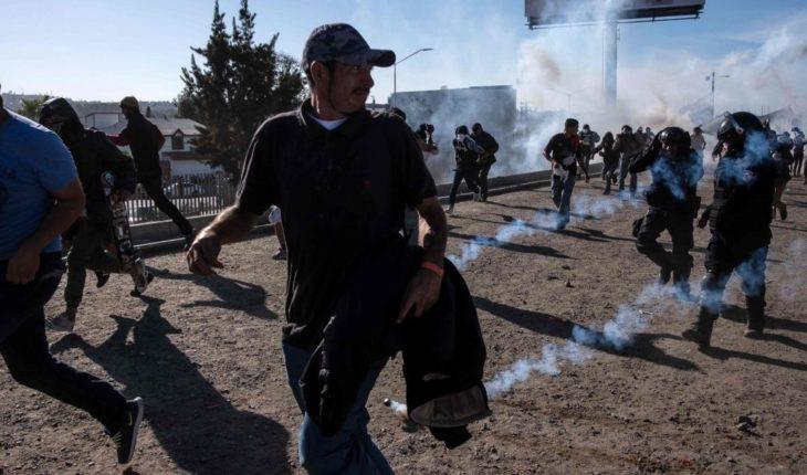 Honduras condena uso de balas de goma contramigrantes