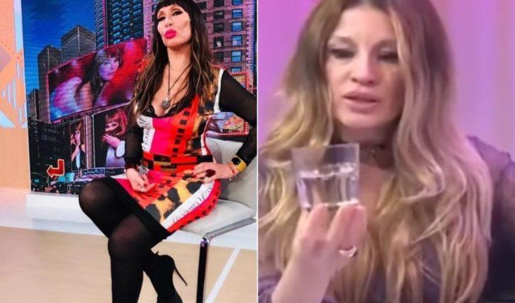 """""""I use it and abuse"""": Moria Casán replied to Gisela Barreto"""