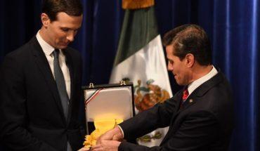 Kushner agradece la condecoración del Águila Azteca