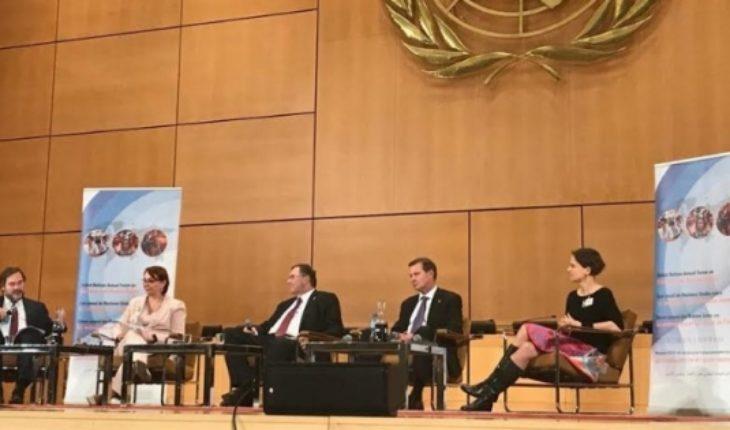 La presencia de la directora de la Bolsa de Santiago en el foro de la ONU sobre empresas y Derechos Humanos
