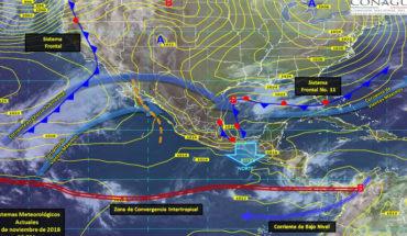 Lluvias en el Sureste de México, bajo potencial de lluvias para el resto del país