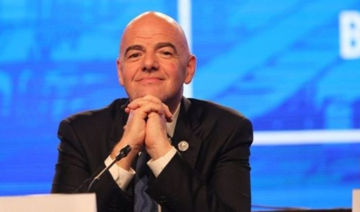 Luxury visit: Gianni Infantino will travel to see the final between River and Boca