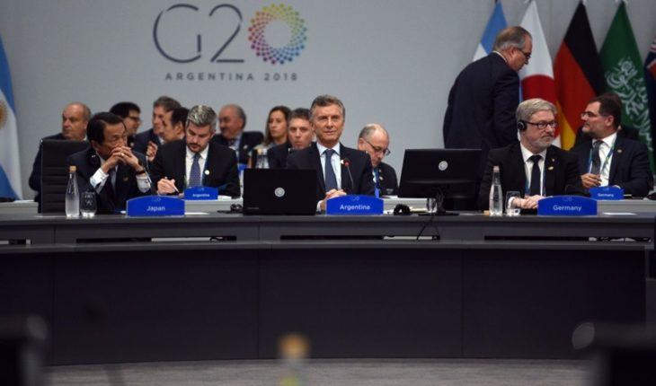 """Macri quoted Mandela and asked to """"end poverty"""" at the opening of the G20"""