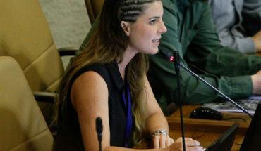 Maite Orsini Boric accompanied on the appointment with Palma Salamanca