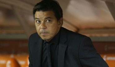 """Marcelo Gallardo after the suspension: """"It was very ugly to see it in the Monumental"""""""