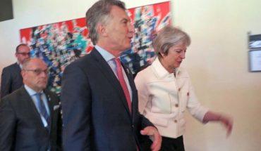 Mauricio Macri se reunirá con la premier británica Theresa May