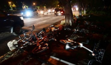 "Mobike representative by burning of bicycles: ""is sad and a pity that kind of reactions"""
