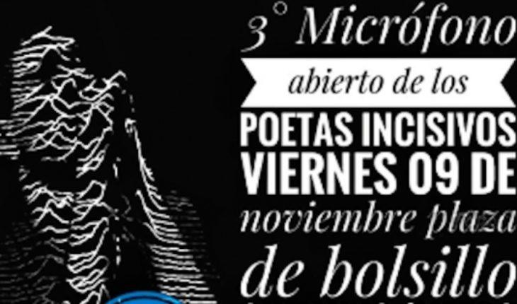 Open Mic poets incisors in Barrio Yungay