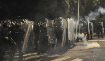 Outside San Juan Ixhuatepec group was that attacked Federal Police