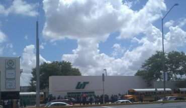 Police Chase ends in University of Tamaulipas