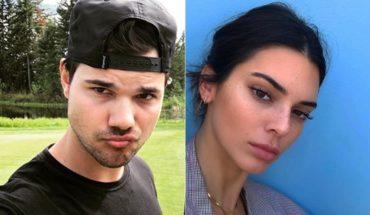 Por qué Taylor Lautner subió una foto de Kendall Jenner a su Instagram