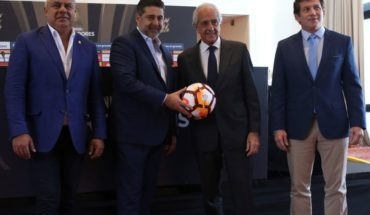 """President of Conmebol and the final Boca-River: """"For me it was a dream at the beginning of year"""""""