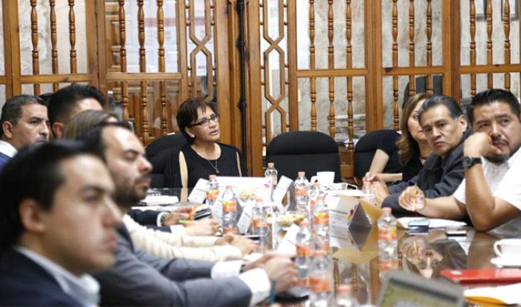 Secretaría de Salud de Michoacán and legislators set agenda of work