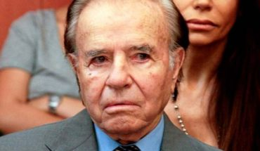 Son of ex-President Menem is discharged by brain tumor
