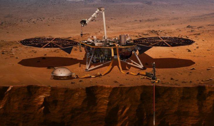 Sonda de la NASA posó con éxito en la superficie de Marte