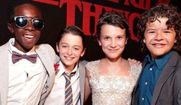 """Stranger Things"" protagonists met in a night of terror watch the video!"