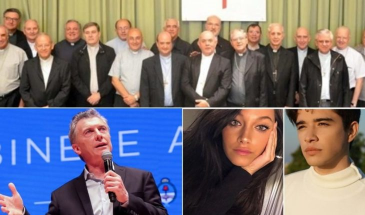 The Church renounces the contributions from the State, Macri on the Superclasico, jealousy over Oriana Sabatini and much more