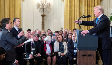 The White House withdrew her credential to CNN journalist who confronted Trump