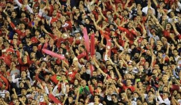 The desire of the fans of independent that leaves them out of the Copa Libertadores