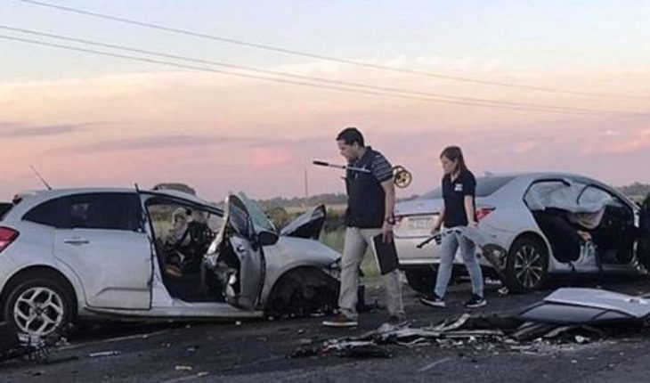 The young athlete Gonzalo Salias in a tragic accident of car in Saladillo died