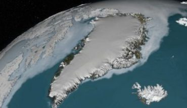 They discover a giant crater in Greenland caused by impact of meteorite