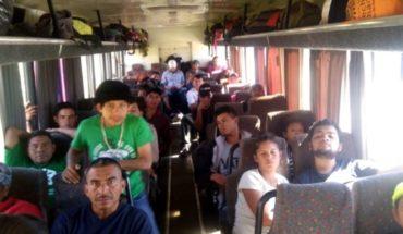 They receive and dismiss migrants in Guadalajara Guadalajara
