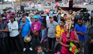 Migrantes reprocharon la decisión de la ONU de no brindarles transporte.