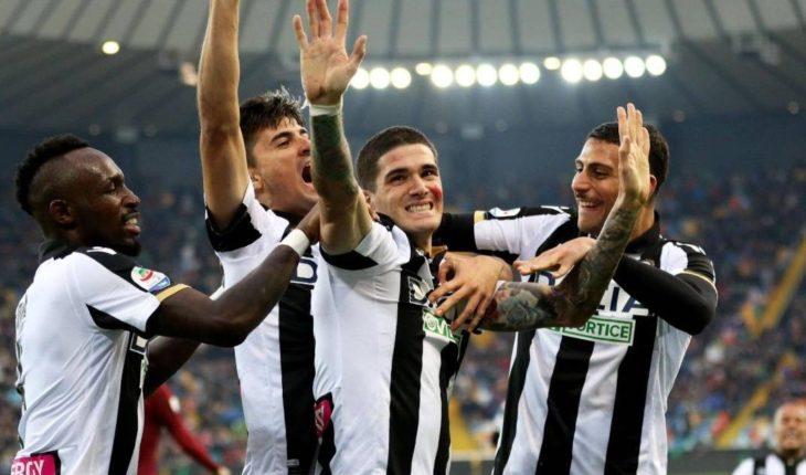 Udinese vence al Roma con un gol de Rodrigo De Paul