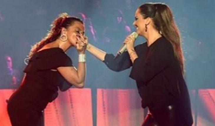 Una vez más, Edith Márquez y Timbiriche cantan 'Besos de ceniza'