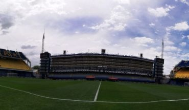What is the State of the playing field at times of the match between Boca and River