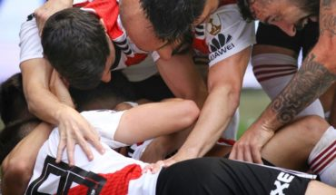 With an eye on the palate: players of River who trained on his day off