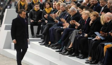 World leaders commemorated the 100th anniversary of the end of the first World War