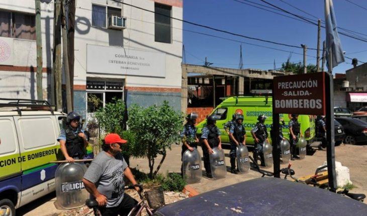 Ya son 9 los muertos por el incendio en la comisaría de Esteban Echeverría