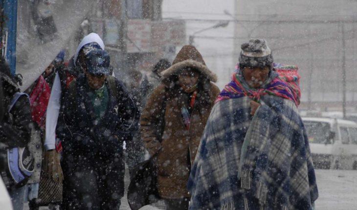 ¡ABRÍGATE! Activan alerta por frío en seis delegaciones de CDMX