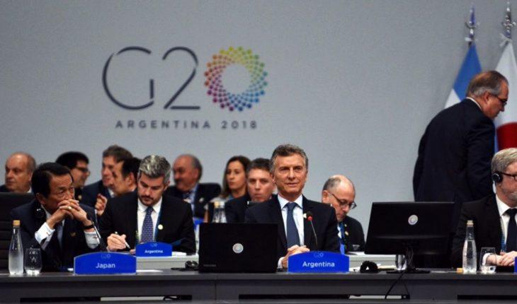 ¿Qué dice el documento final del G20?