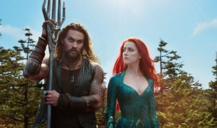 """""""Aquaman"""" encabeza la taquilla en EEUU"""