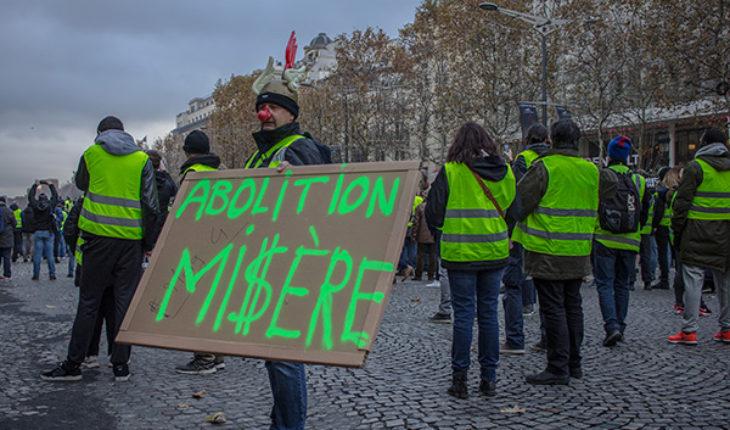 Manifestante el pasado 24 de noviembre en París. Foto: NightFlightToVenus (CC BY-NC-ND 2.0)