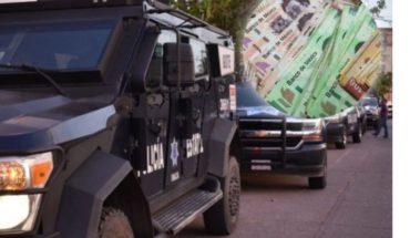 30 hombres armados roban 118 millones de pesos de camión de valores