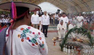 AMLO pide a empresas invertir en el Tren Maya