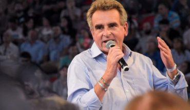 Agustín Rossi presentó su candidatura presidencial