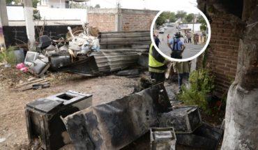 Asaltan y prenden fuego a dos casas durante el festejo de Navidad