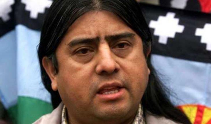 """Aucán Huilcamán rechaza reunión con los diputados: """"Es el reflejo más fidedigno y elocuente de la doctrina de la negación que ha sostenido el Estado Chileno con el Pueblo Mapuche"""""""